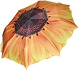 Sunflower Folding Travel Umbrella Parasol