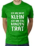 Ich Bin Nicht Klein Ich Bin Ein Konzentrat - Herren T-Shirt von KaterLikoli, Gr. 2XL, Apple Green