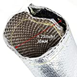 Selotrot 1M Insulation Metal Heat Shield Sleeve Wire Hose Protection Cover