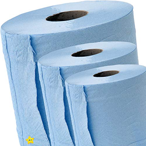 Pack of 12 Blue Centrefeed Rolls...