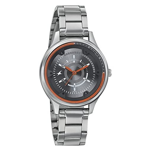 51XDy7bISiL. SS510  - Fastrack 6138SM01 Grey Women watch