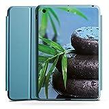 Apple iPad Mini 4 Smart Case hellblau Hülle Tasche mit Ständer Smart Cover Zen-Steine Wasser Water
