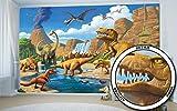 GREAT ART Fototapete Dinosaurier - 336 x 238 ...Vergleich