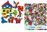 TEMSON Classic Colourful DIY Mini Building Blocks Educational Puzzle Construction Toy for Kids