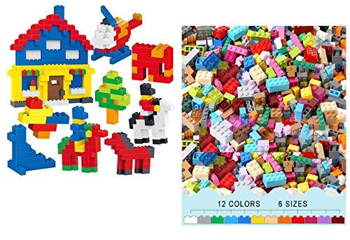 TEMSON Classic Colourful DIY Mini Building Blocks Educational Puzzle Construction Toy for Kids -450 Pieces
