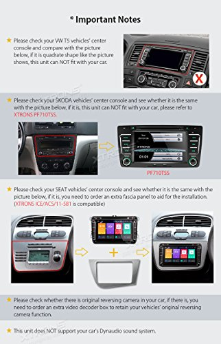 XTRONS® Android 8 0 Car Stereo Radio Player 8