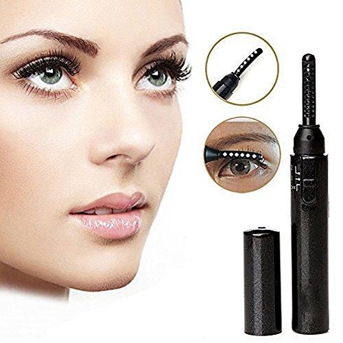 eBasic Wimpernzange Make-up-Tool Mini Portable Electric Heated Eyelash Curler Augen Beauty Tool für Wunderbare Schmerzfreie Geschwungene Wimpern