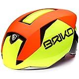 Briko Gass, Unisex Erwachsene Helm L Gelb/Orange