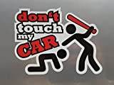 Dont touch my Car Shocker Hand Auto Aufkleber JDM Tuning OEM DUB Decal Stickerbomb Bombing fun