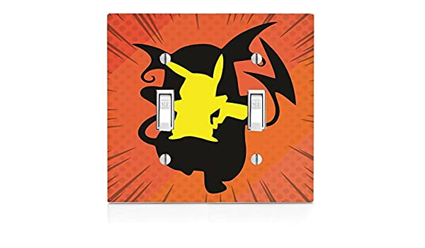Pokemon Double Light Switch Cover