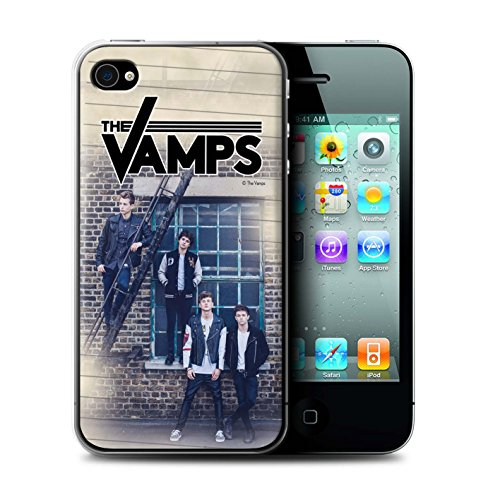 Officiel The Vamps Coque / Etui pour Apple iPhone 4/4S / Pack 6pcs Design / The Vamps Séance Photo Collection Journal Intime