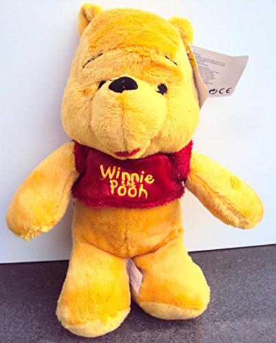 XXL Stofftier Winnie Pooh Tigger Iaah Ferkel Lumpi ca. 28cm Plüsch (Winnie Pooh)