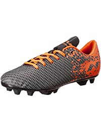 Nivia 31105 Premier Carbonite Football Studs, Men's Size 5 (Orange /  Black)