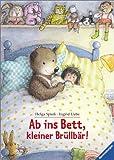Ab ins Bett, kleiner Brüllbär!