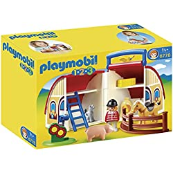 Playmobil 1.2.3. - Granja maletín (6778)