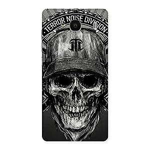 Special Grey Skull Terr Back Case Cover for Redmi 2