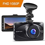 "apeman Dashcam Car Camera Full HD 1080P DVR with 170° Wide Angle, 3"" LCD Screen, G-Sensor, WDR, Loop Recording, Motion Detection, Parking Monitor"