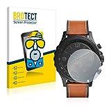 2x BROTECT Displayschutzfolie für Fossil Q Nate Schutzfolie - Entspiegelt, Anti-Fingerprint