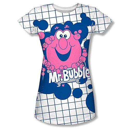 mr-bubble-tub-time-juniors-cap-sleeve-dye-sublimation-t-shirt
