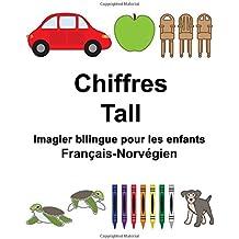 Français-Norvégien Chiffres/Tall Imagier bilingue pour les enfants (FreeBilingualBooks.com)