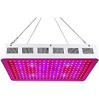 Roleadro 600W LED Cultivo Grow Light Con luz IR UV 9-Band Espectro LED Lamparas Iluminacion para Plantas Semillero Crecimiento y Floracion en Grow Box