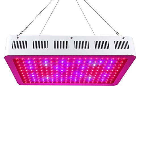 Roleadro 600W LED Cultivo Grow Light Con