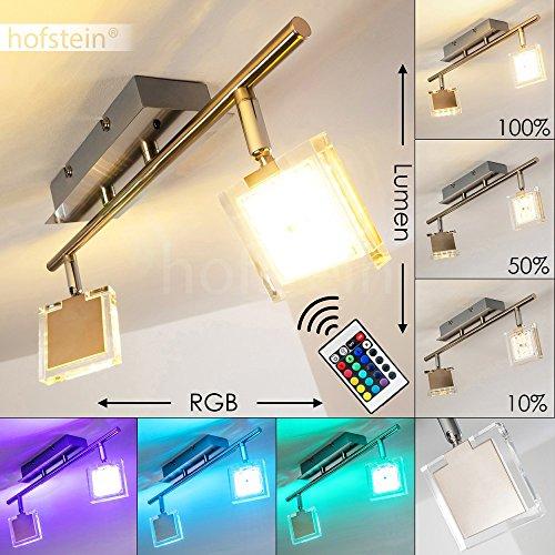 ... LED Deckenstrahler 2 Flammig   Parnu   Deckenleuchte Mit Farbwechsler  Und Fernbedienung   RGB LED
