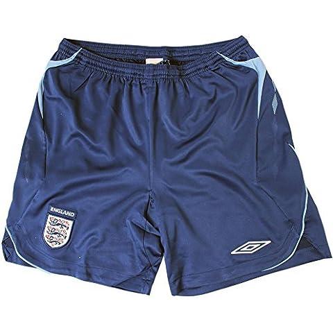Umbro England Retro Pantaloncini Fu?pantaloncini di palla Calcio uomo nuovo Blu - XXL