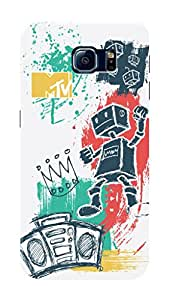 MTV Gone Case Mobile Cover for Samsung Galaxy S6 Edge+