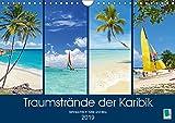 Traumstrände der Karibik (Wandkalender 2019 DIN A4 quer): Karibik: Sehnsüchte in Türkis und Blau (Monatskalender, 14 Seiten ) (CALVENDO Orte)