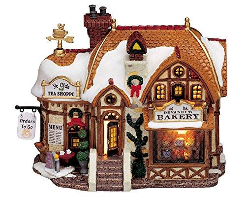 Lemax Devaney's Bakery - 18,9cmx14,3cmx10,7cm - Beleuchtete Bäckerei - LED - Porzellan -