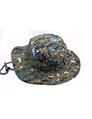 Táctica Jefe Wear/Boonie selva gorra Cap para pesca, senderismo, Camping, otras actividades al aire libre,, Camuflaje jungla