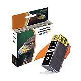 D&C Druckerpatrone BLACK für Canon PGI-520 Pixma iP3600 iP4600 iP4700 MP540 MP550 MP560 MP620 MP630 MP640 MP980 MP990 MX860 MX870 ersetzt PGI CLI 520