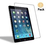 Hi-Luck [2 Stück] Panzerglas Schutzfolie für iPad Air, Displayschutzfolie für iPad Air 1/ Air 2/ iPad Pro 9.7, [Anti- Kratzer], [Bläschenfrei], [0.33mm, 9H Härte]