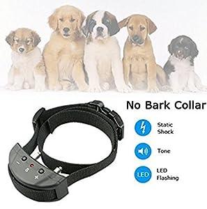 ROGUCI 500 mètres étanche 2 chiens choc collier de dressage chien collier électrique d'entraîneur d'animaux de compagnie avec collier de formation électronique chiens 25-120 livres