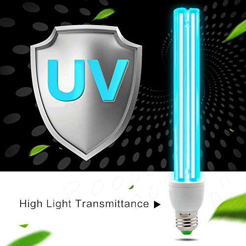 Ultraviolet Germicidal Lamp Luftreiniger Zu Sterilisationslampe UVC Antibakterielle Rate 100% UV-Keimtötende Lampe Für Auto Haushalts Kühlschrank Toiletten Haustierbereich