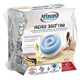 Ariasana Aero 360° Ricarica TAB Fiori di Campo per Dispositivo Aero 360° Kit, Assorbi Umidità in Tab al Profumo di…