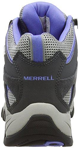 Merrell Ridgepass Mid, Chaussures D'escalade Multicolores Pour Femmes (castle Rock / Pervenche)