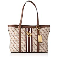 GUESS Womens Tote Bag, Brown - SB730424