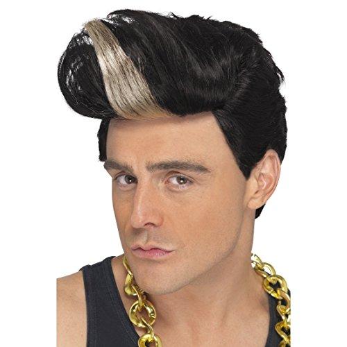 Rapper Faschingsperücke 90er Jahre Perücke Haartolle Herrenperücke Blonde -