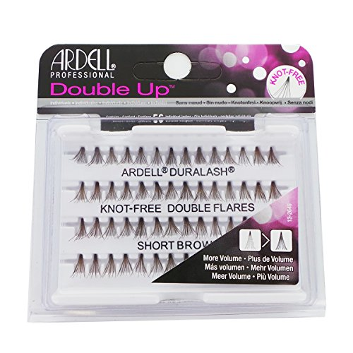 ARDELL Double Up Knot-Free Double Flares - Short Brown