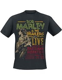 Bob Marley Rastaman Live T-Shirt Black