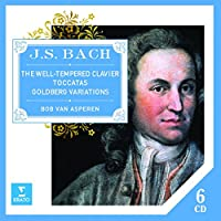 Bach Well-Tempered Clavier Goldberg Variations Toccatas - Bach Well