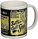 """Pyramid International - Tazza in ceramica con scritta """"Better Call Saul"""", per appassionati della serie Breaking Bad"""