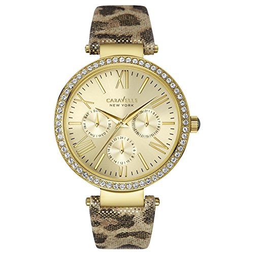 Ladies Caravelle New York Glitz Watch 44N103
