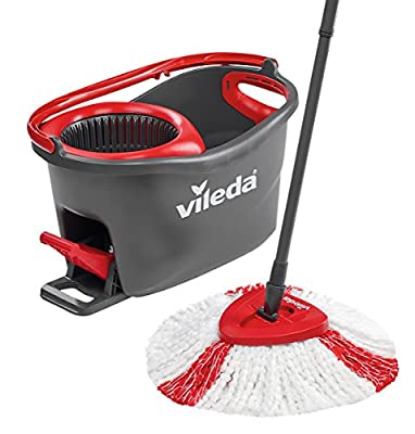 Vileda Easy Wring and Clean Turbo Microfibre Mop and Bucket Set