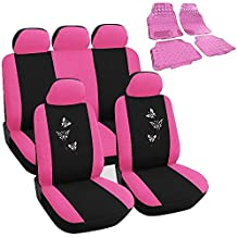Housse voiture rose for Housse voiture pas cher