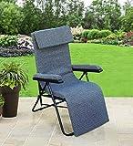 Spacecrafts Recliner Folding Easy Chair (Standard, Grey)