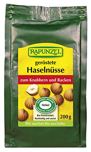 Rapunzel Bio Haselnusskerne geröstet, Projekt (1 x 200 gr)