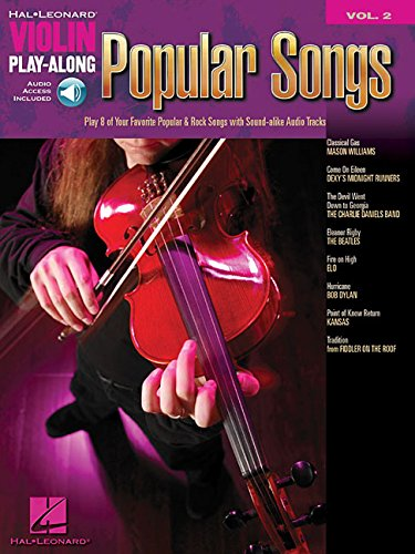 Popular Songs  Violon +CD: 2 (Hal Leonard Violin Play Along)